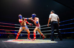 Krudam Fight #4 on Muaythai Day Royalty Free Stock Photography