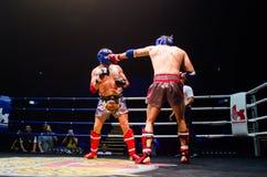 Krudam Fight #4 on Muaythai Day Stock Image