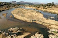Krugar-Fluss-Szene stockfotografie