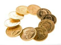 krugerrand för myntguld Royaltyfri Bild