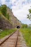 The Krugobajkalsky railway. Stock Images