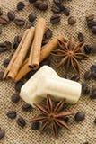Kruid en chocolade Stock Foto