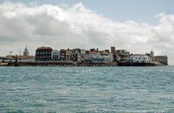 Kruideiland, Portsmouth Royalty-vrije Stock Foto's