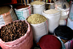 Kruiden in de markt. Stock Fotografie