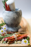 Kruiden en aromatische kruiden Stock Afbeelding