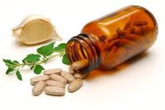 Kruiden geneeskunde Stock Foto's