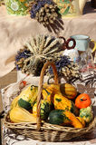 Kruiden, kruiden, lavendel, boeketten en groenten Royalty-vrije Stock Afbeelding
