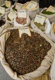 Kruiden op de markt Royalty-vrije Stock Foto