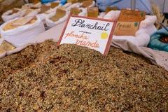 Kruiden op de markt Stock Foto's
