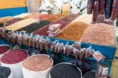 Kruiden op Verkoop bij de Straatmarkt Royalty-vrije Stock Afbeelding
