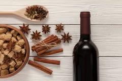 Kruiden voor overwogen wijn Royalty-vrije Stock Foto's
