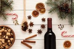 Kruiden voor overwogen wijn Royalty-vrije Stock Fotografie