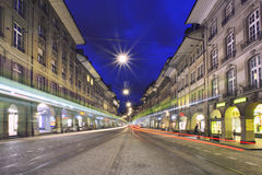 Kruidenierssteeg in Bern Stock Afbeeldingen
