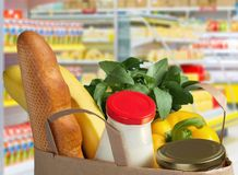 Kruidenierswinkel het Winkelen royalty-vrije stock fotografie
