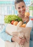 Kruidenierswinkel het Winkelen stock foto