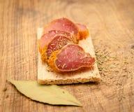 Kruidig vlees Stock Fotografie
