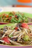 Kruidige Aziatische maaltijd royalty-vrije stock afbeelding