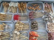 Kruidige barbecue van China royalty-vrije stock afbeeldingen