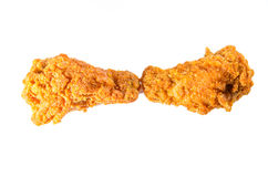 Kruidige kippenvleugels Stock Foto