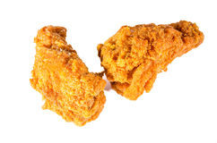 Kruidige kippenvleugels Stock Foto's