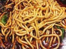 kruidige noedel die China chongqing royalty-vrije stock foto's