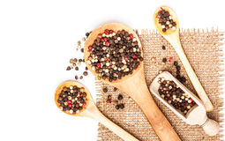 Kruidige peperbollen Stock Afbeeldingen