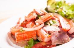 Kruidige Salade Royalty-vrije Stock Afbeeldingen