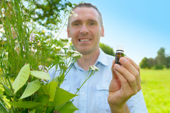 Kruidkundige Homeopath Royalty-vrije Stock Fotografie