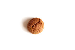 Kruidnoten for Sinterklaas, a Dutch Holiday gingerbread cookie on a white background Royalty Free Stock Image