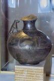 Kruik de 1st eeuwadvertentie Zilver, het vergulden Stock Foto's