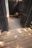 Kruik houten ontwerp episch Thailand Royalty-vrije Stock Afbeelding