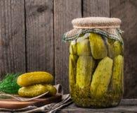 Kruik van groenten in het zuur Royalty-vrije Stock Afbeelding