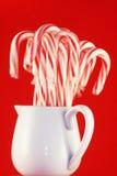 Kruik van het Riet van het Suikergoed Stock Foto