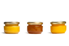 Kruiken honing. Stock Fotografie
