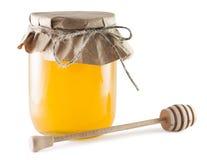 Kruiken honing Stock Afbeelding