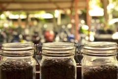 Kruiken Koffie Royalty-vrije Stock Afbeelding