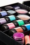 Kruiken in make-upgeval Royalty-vrije Stock Afbeelding