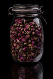 Kruikhoogtepunt van aromatische droge vruchten Royalty-vrije Stock Afbeelding