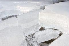 Kruimelig ijs royalty-vrije stock afbeelding