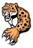 Kruipende luipaard stock illustratie