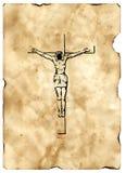 Kruis 2 van Jesus-Christus Royalty-vrije Stock Afbeeldingen