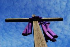 Kruis 2 van Pasen stock afbeeldingen