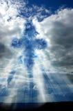 Kruis in de Hemel Royalty-vrije Stock Afbeeldingen