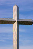 Kruis in de hemel Royalty-vrije Stock Fotografie