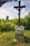 Kruis door het meer Royalty-vrije Stock Afbeelding