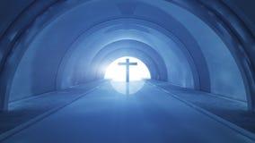 Kruis en tunnel Stock Afbeeldingen