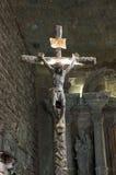 Kruis met een zout Royalty-vrije Stock Foto