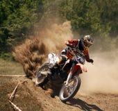 KRUIS MOTO Royalty-vrije Stock Foto's