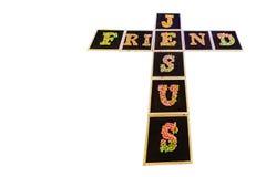 Kruis van Jesus Stock Foto