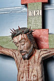 Kruisbeeld - Jesus kruisigde Royalty-vrije Stock Foto